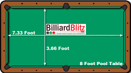 8_Foot_Pool_Table_Size