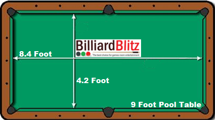 9_Foot_Pool_Table_Size